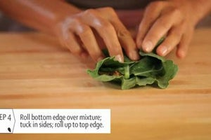How to Use Leaves as Wraps