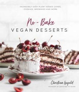 No-Bake Vegan Desserts book cover